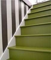 Trap verven werkwijze tips voorbeelden geverfde trappen - Idee voor trappen ...