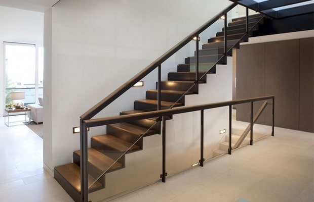 Moderne trappen fotospecial inspiratie tips for Metalen trap maken