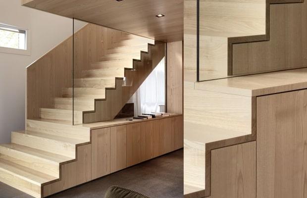 Moderne trappen fotospecial inspiratie tips for Trap buiten hout