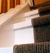 Traploper afwerking van de trap