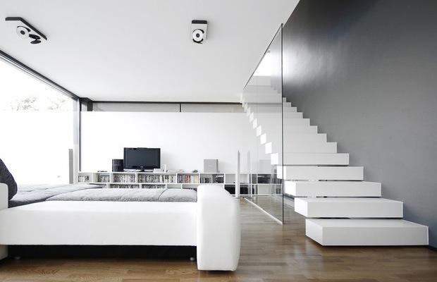 Zwevende trap voorbeelden prijs advies - De trap van de bistro ...