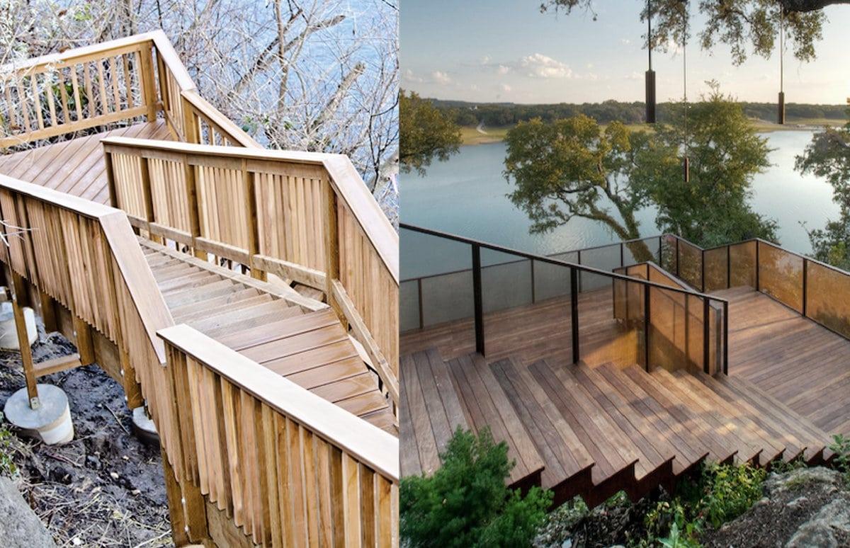 Buitentrappen geschikte materialen met hun voordelen en prijs for Dikte traptreden hout