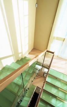 glazen trap voorbeeld
