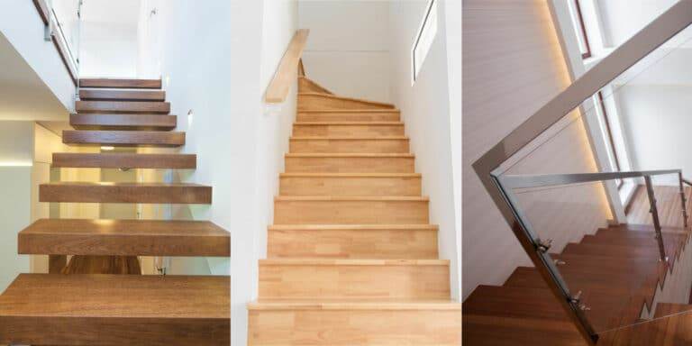 houten trap plaatsen