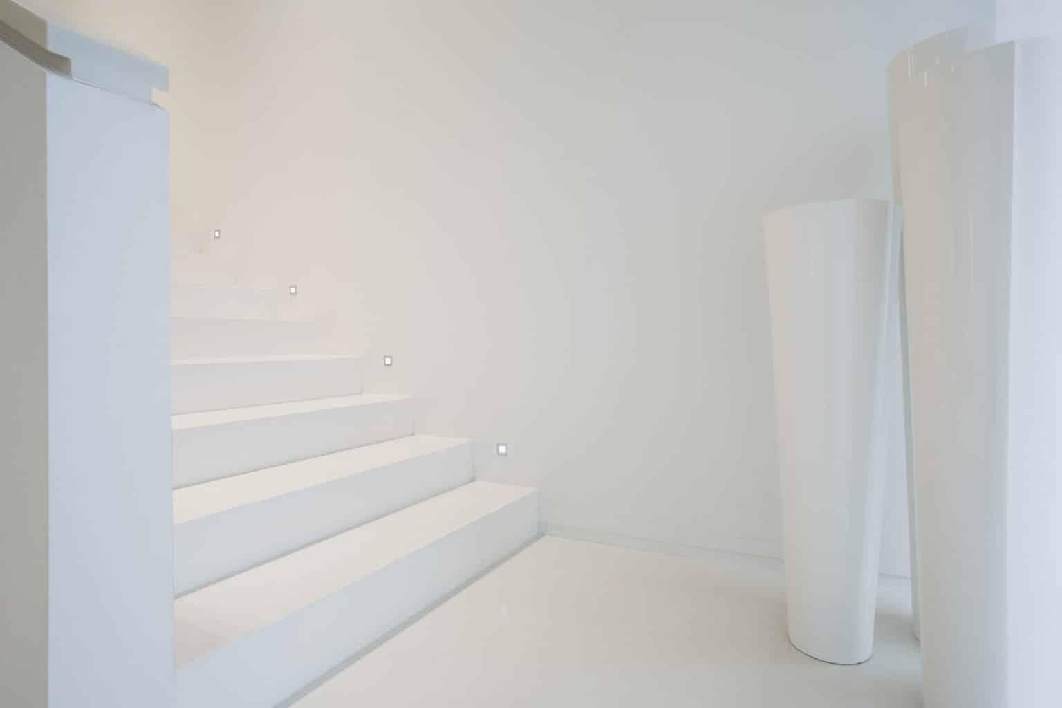 led-verlichting zijkant trap
