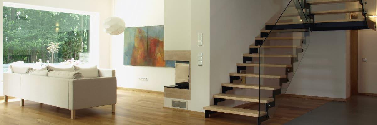 metalen trap hout voorbeeld