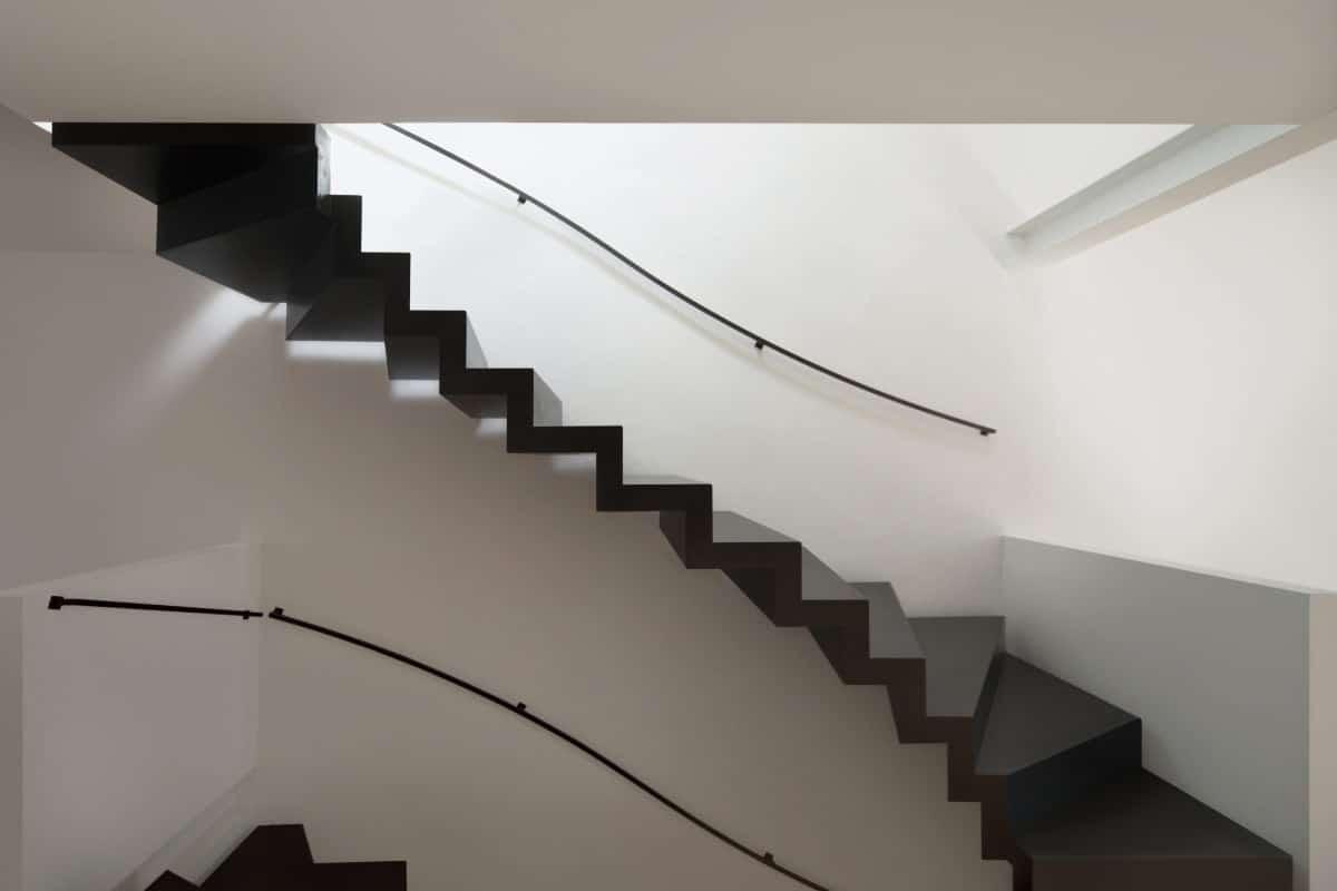 metalen trappen voorbeeld