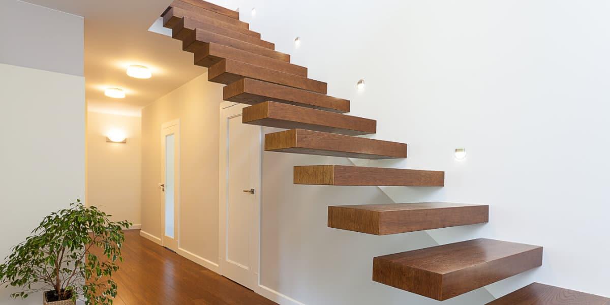 zwevende trap op maat