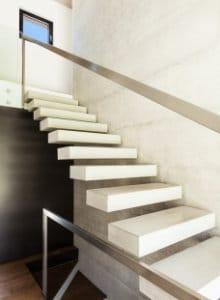 zevende trap wit